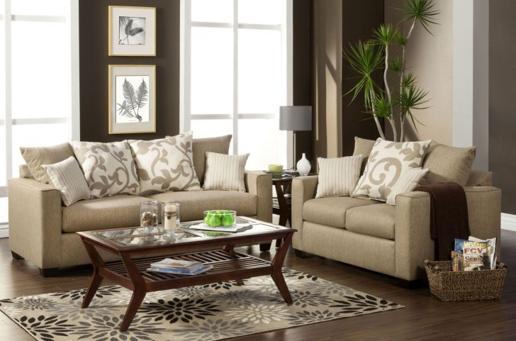 Colebrook Beige Living Room Set