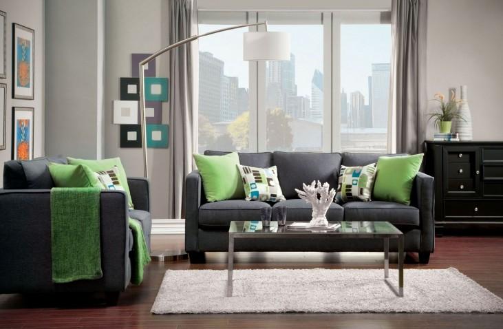 Lasso Gray Living Room Set