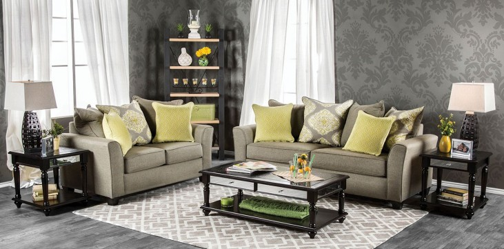 Macroom Gray Living Room Set