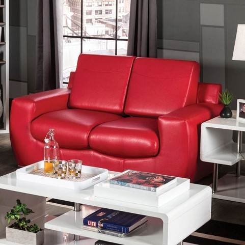 Tekir Red Loveseat