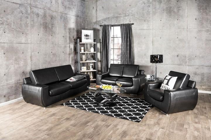 Tekir Espresso Living Room Set