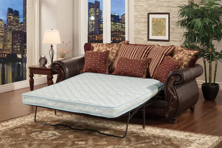 Franklin Brown Queen Sofa Sleeper
