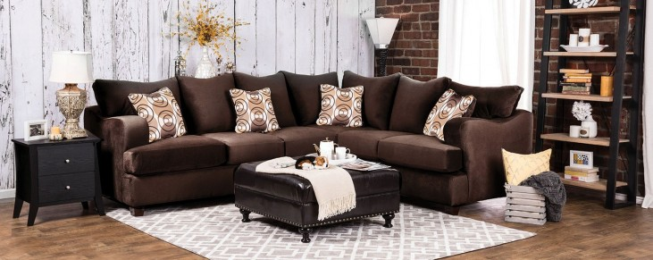 Wessington Chocolate Sectional