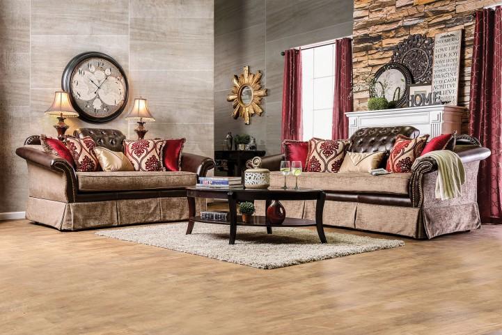 Kinsale Brown Living Room Set