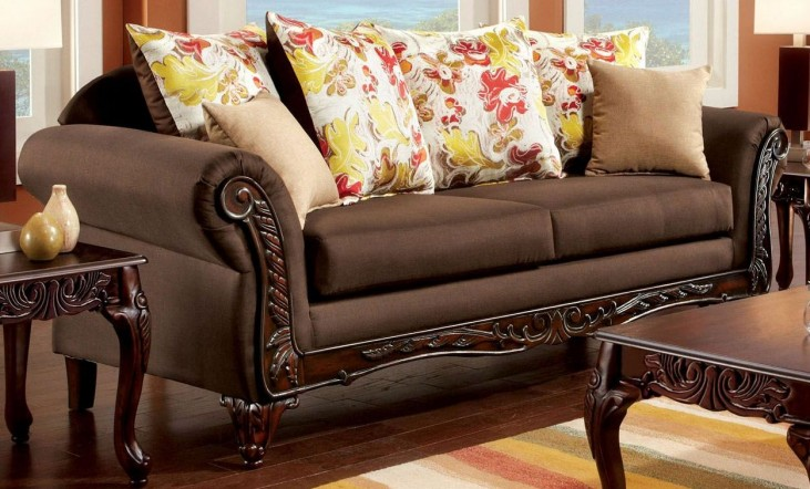 Branford Dark Brown Sofa