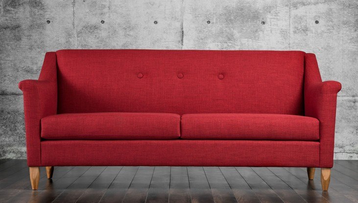 Mallory Red Sofa