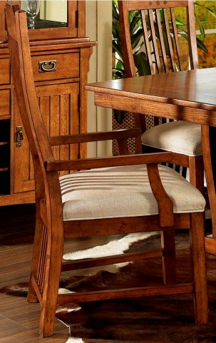 Craftsman Dining Arm Side Chair Set of 2