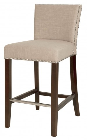 Soho Espresso Almond Counter Stool