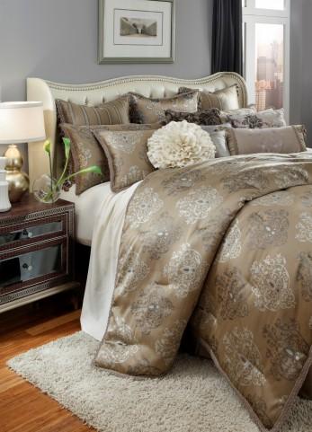 Solitaire 13 Pieces King Comforter Set