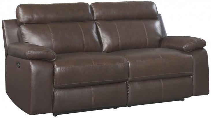 Sonoma Mahogany Power Reclining Sofa