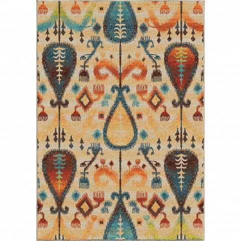 Tribel Turk White Large Rug