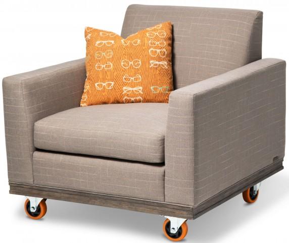 Studio Detroit Tangerine Wheelchair