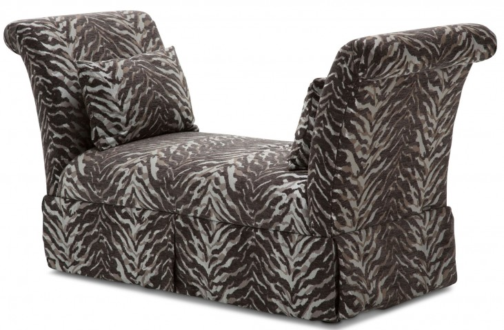 Studio Leeah Brown Upholstered Bench