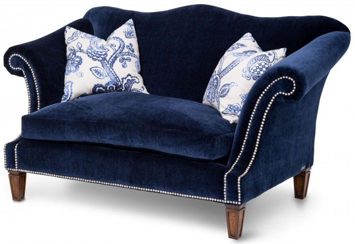 Studio Los Feliz Blue Loveseat