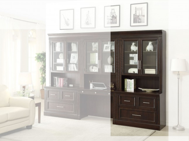 Stanford 2Pc Lateral File & Hutch