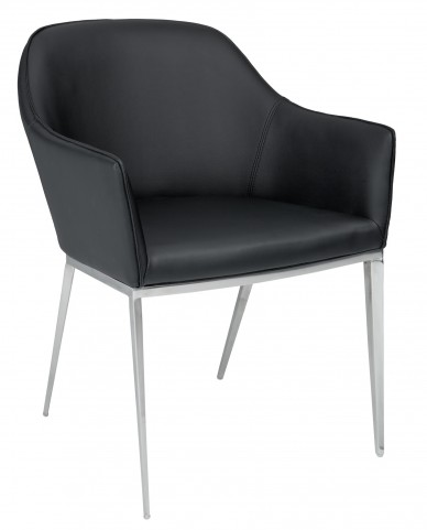 Stanis Black Armchair