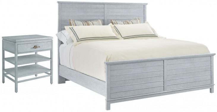 Coastal Living Resort Sea Salt Cape Comber Bedroom Set