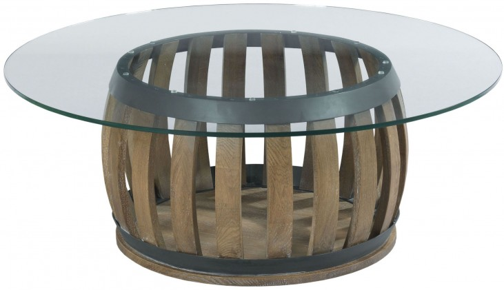 Stone Ridge Round Cocktail Table