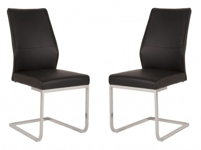 Regis Sydney Black Dining Chair Set of 2