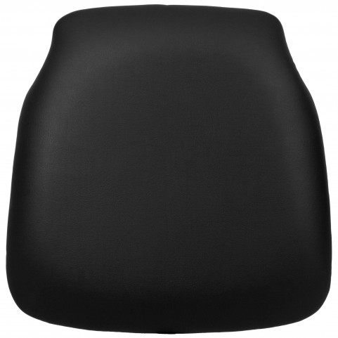 Hard Black Vinyl Chiavari Chair Cushion for Wood Chiavari Chairs