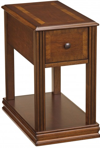 Chairside End Program Brown Chair Side End Table