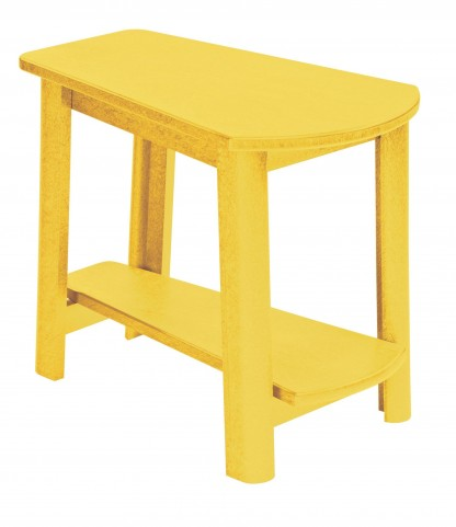 Generations Yellow Tapered Accent Table