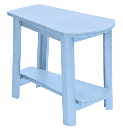 Generations Sky Blue Tapered Accent Table