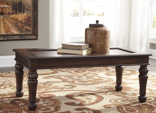 Millburg Brown Occasional Table Set