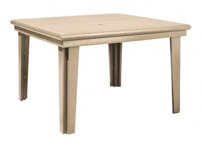 "Generations Beige 46"" Square Dining Table"