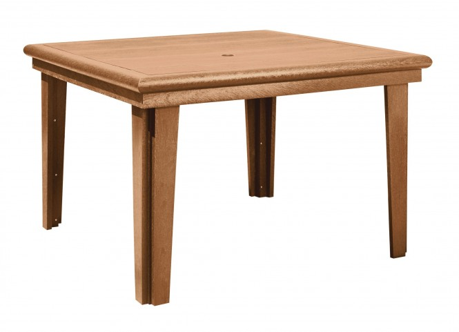"Generations Cedar 46"" Square Dining Table"