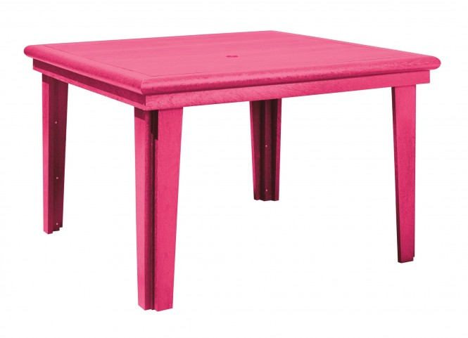 "Generations Fuschia 46"" Square Dining Table"