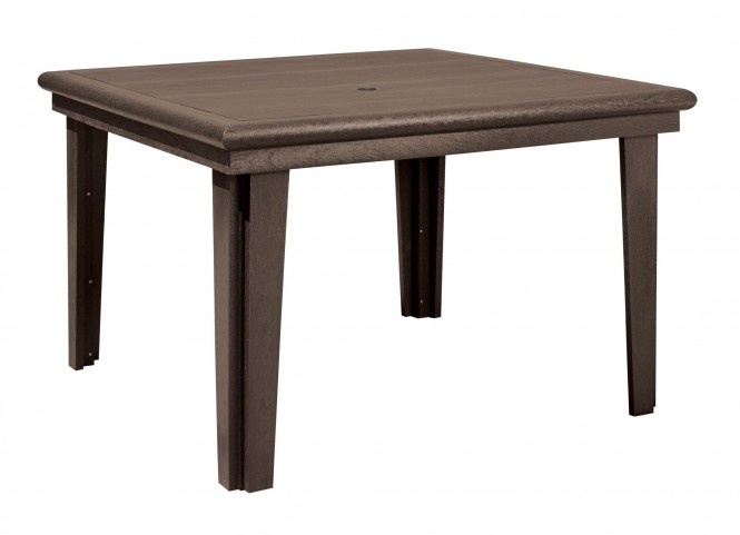 "Generations Chocolate 46"" Square Dining Table"