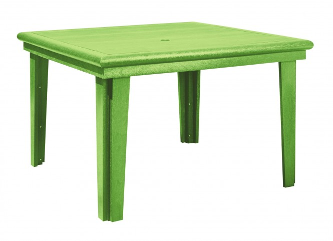 "Generations Kiwi Lime 46"" Square Dining Table"