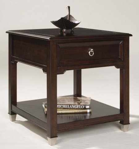 Darien Rectangular End Table