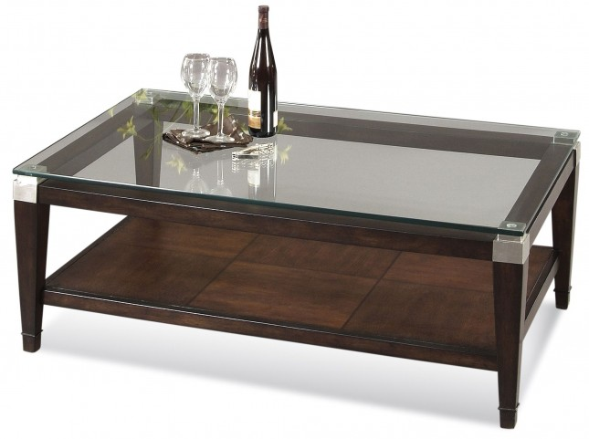 Dunhill Cappuccino Rectangular Cocktail Table