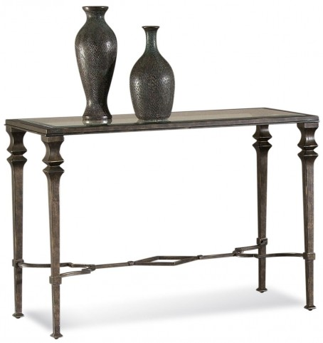 Lido Burnished Bronze Console Table