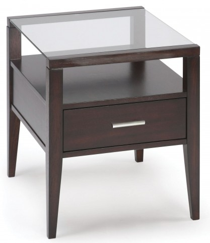 Baker Rectangular End Table