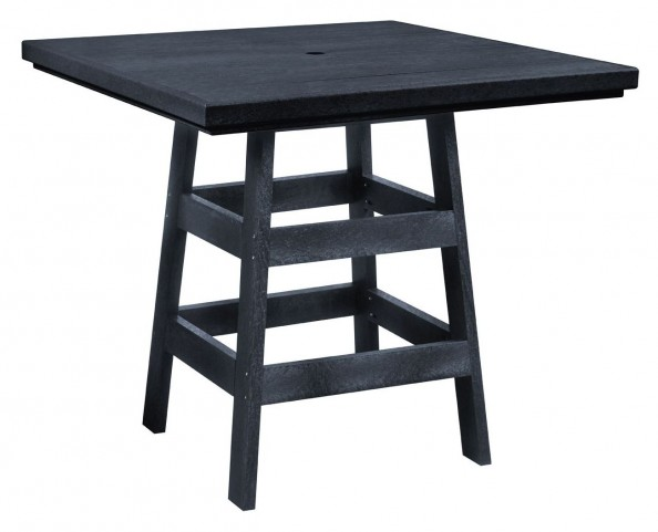 "Generation Black 42"" Square Pub Table"