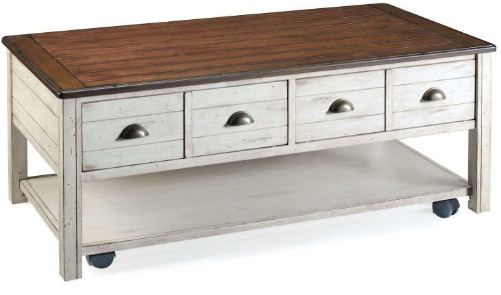 Bellhaven Rectangular Cocktail Table