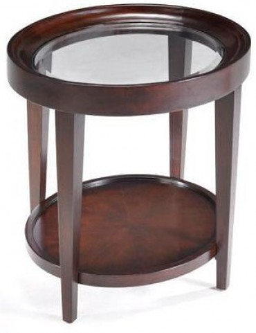 Carson Oval End Table
