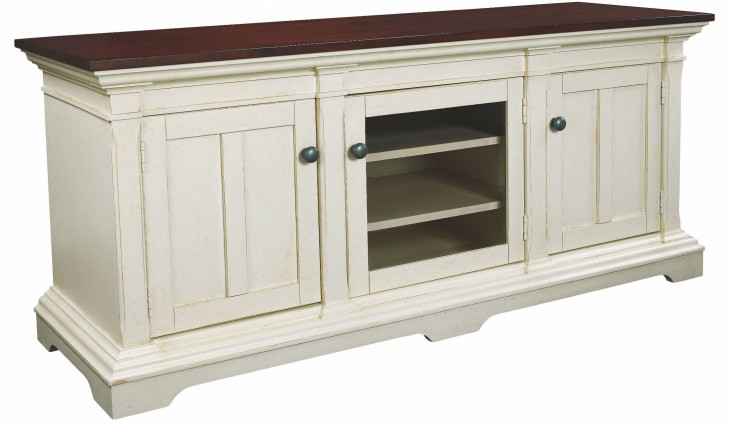 Promenade Antique Linen Entertainment Console