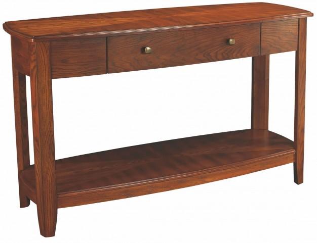 Primo Warm Medium Brown Sofa Table