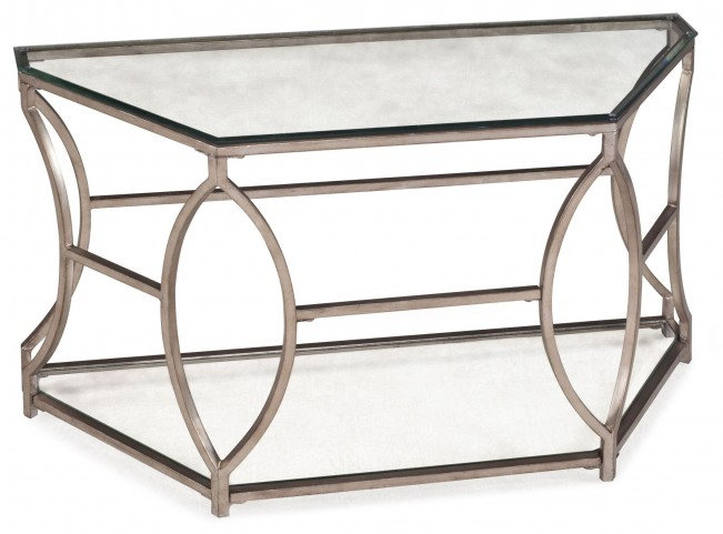 Nevelson Demilune Sofa Table