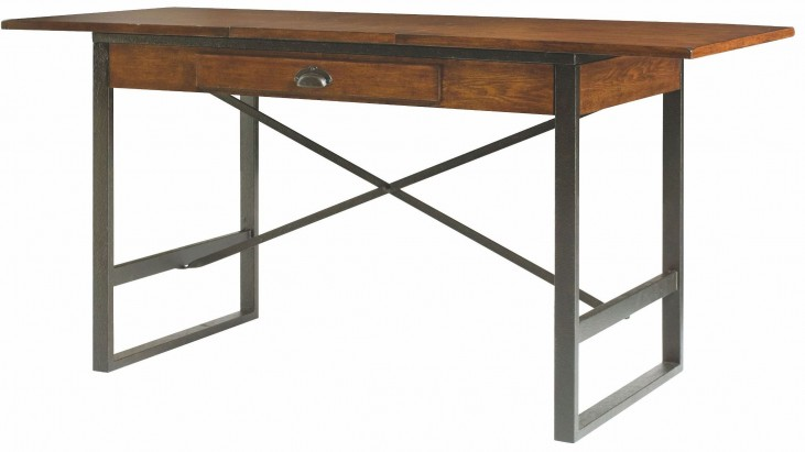 Baja Vintage Umber Extendable Counter Height Dining Table