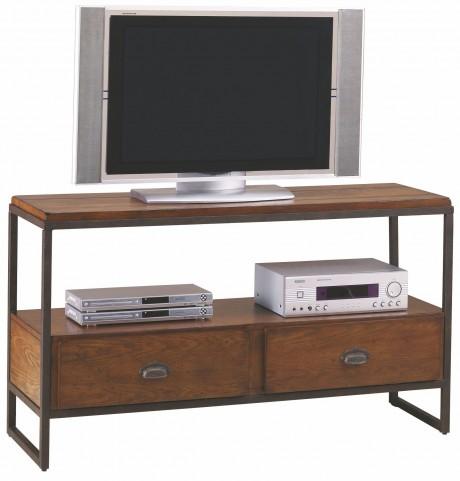 Baja Vintage Umber Entertainment Console Table