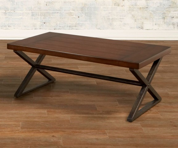 Crossing Rectangular Cocktail Table