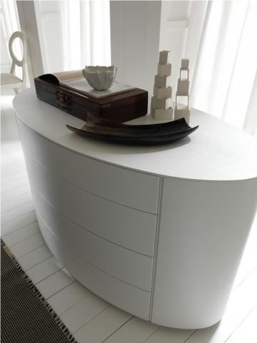 Moon White Dresser