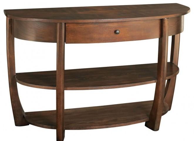 Concierge Medium Brown Sofa Table