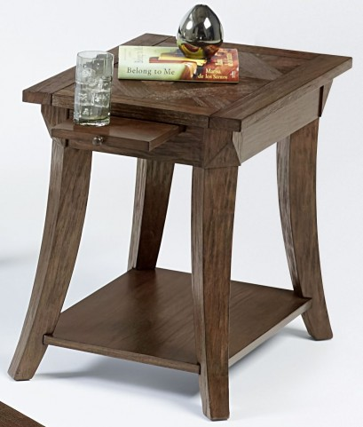 Appeal l Dark Poplar Chairside Table