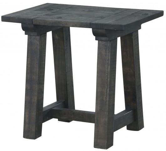 Bridgewater Weathered Charcoal Rectangular End Table